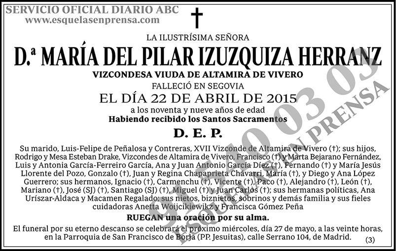 María del Pilar Izuzquita Herranz
